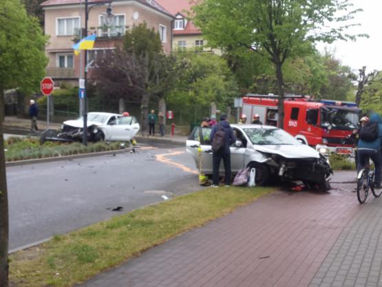 Wypadek w Sopocie na Armii Krajowej