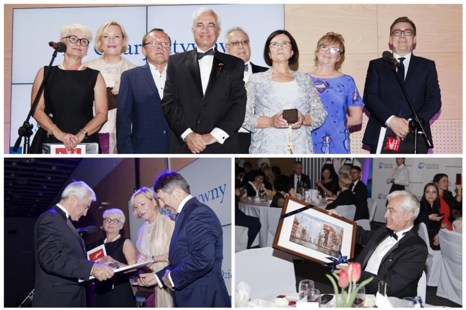 Pan Ambasador Turcji Tunc Ugdul i Konsul Honorowy Generalny Serdar Davran i Iwona Davran