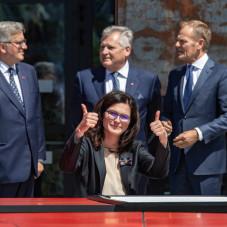 Święto wolności w ECS. Podpisanie deklaracji wolności i solidarności