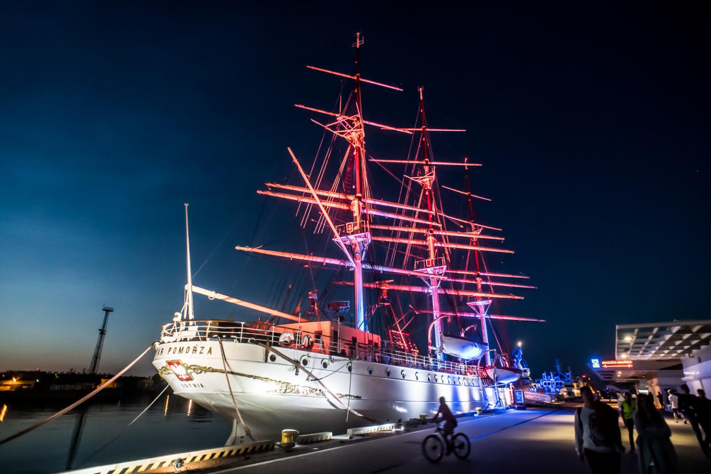 Podświetlony Dar Pomorza