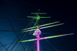 Dar Pomorza: nowa iluminacja już jest