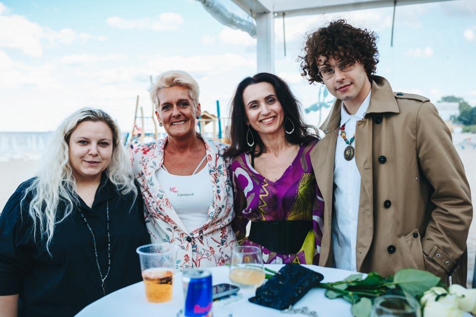 Beata Przybysz, Patrycja Brendler, Damian Gradecki i Santina Zienkiewicz