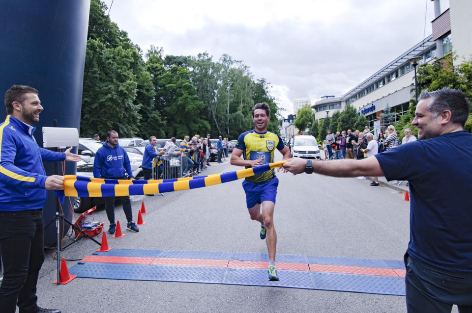 Adam Kaczmarek, zwycięzca Biegu Arkowca