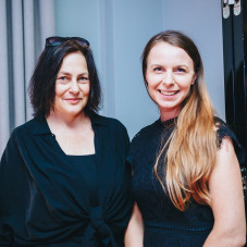 Aneta Szyłak i Katarzyna Zblewska