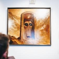 Obraz Zdzisława Beksińskiego