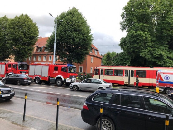 Groźny wypadek na Kartuskiej w Gdańsku