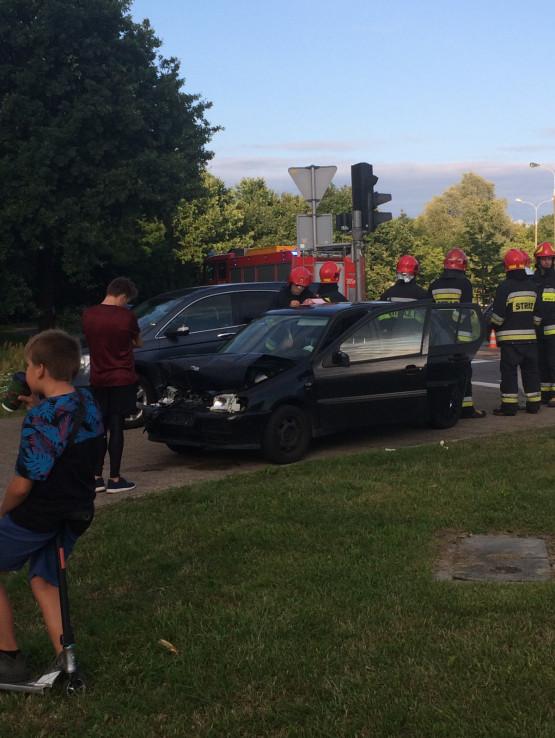 Wypadek na Czarnym Dworze w Gdańsku