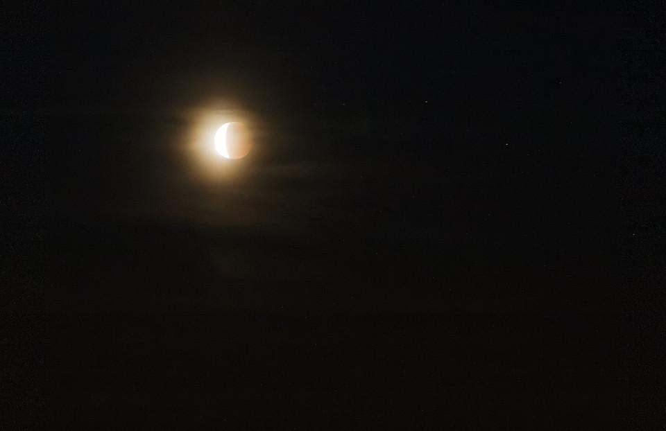Zaćmienie Księżyca 16.06.11