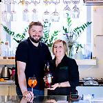 Szmaragdowa Café właściciele Małgorzata i Daniel Leczkowscy