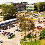 Skwer Piekarza - Centrum Handlowe Jasień