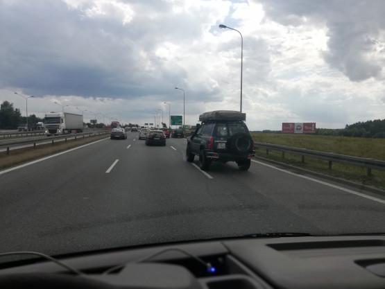 Awaria auta na obwodnicy na węźle Matarnia w stronę A1