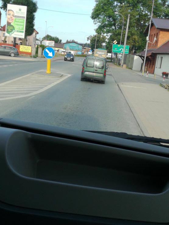 Zator na ul. Oliwskiej