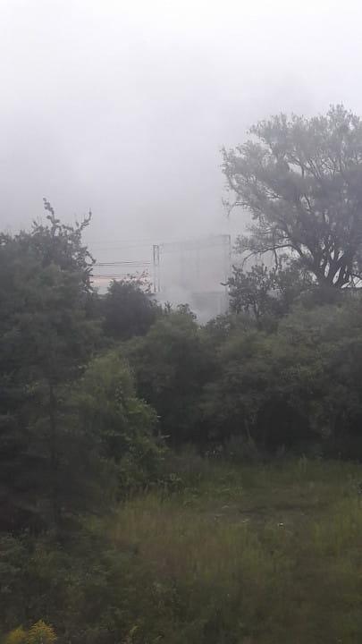 Pożar auta na Przeróbce