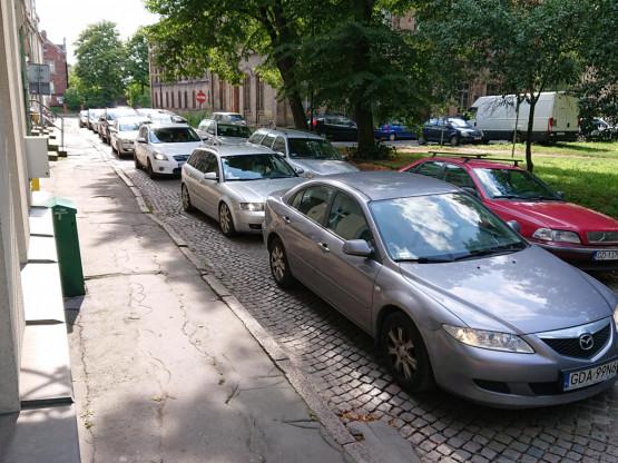 Zakorkowane ulice na Starym Przedmieściu