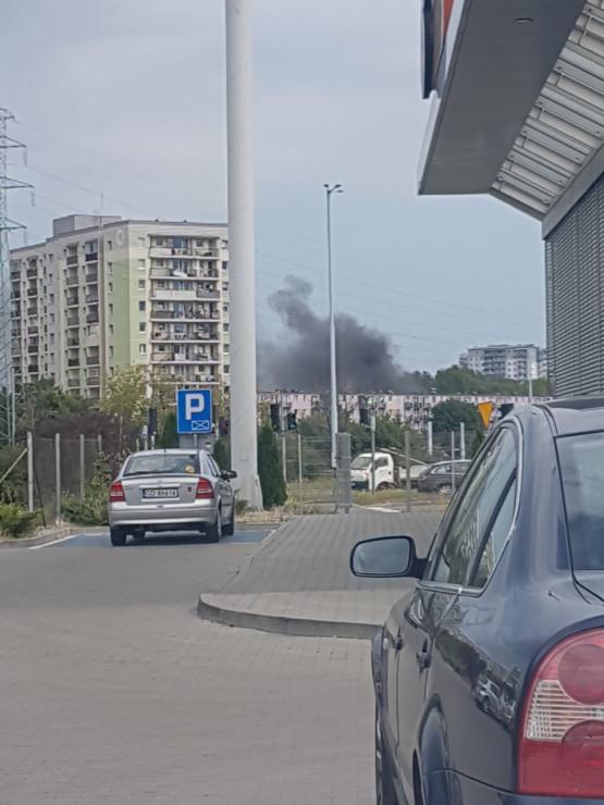 Coś się pali na Przymorzu