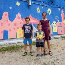 Odsłonięcie muralu historycznego w Nowym Porcie