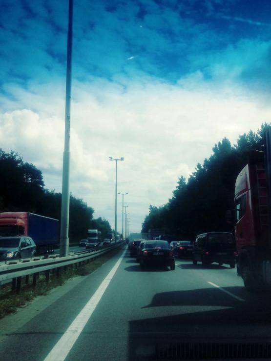 Korek od Tesco Karwiny kierunek Gdańsk