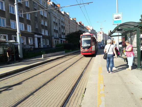 Awaria tramwaju nr 10 w kierunku Brętowa