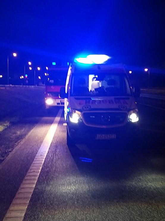 Wypadek na obwodnicy między Osową a Karwinami