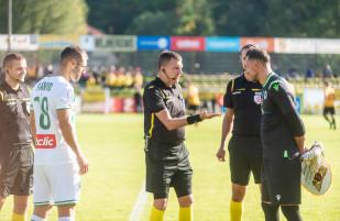 Gryf Wejherowo - Lechia Gdańsk 2:3. Zwycięski bój o 1/16 finału Pucharu Polski