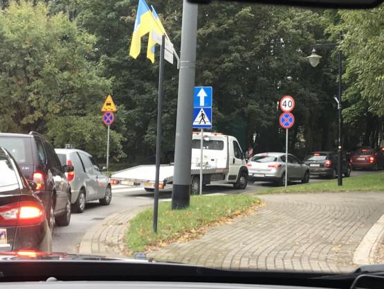 Korek na Armii Krajowej w Sopocie