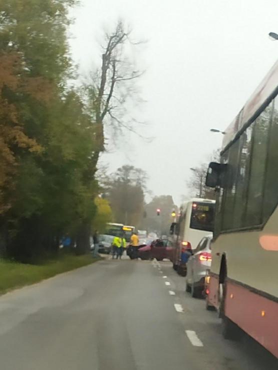 Wypadek na Kielnieńskiej w Osowej