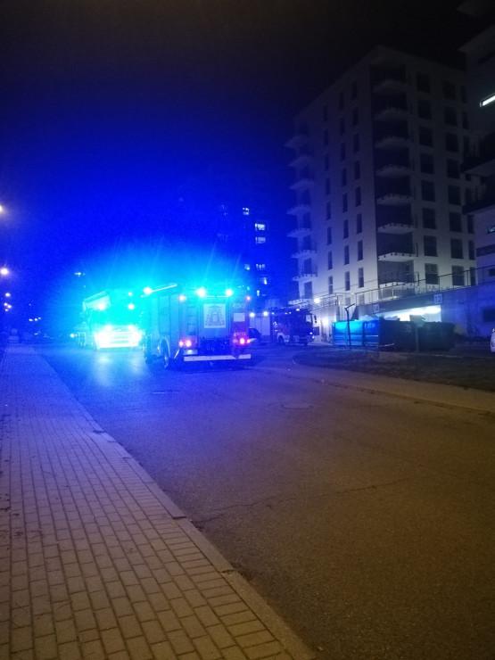 Straż pożarna na ul. Żelaznej w Gdyni