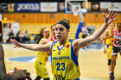 Arka Gdynia - Spar Citylift Girona 71:69. Pierwsze zwycięstwo koszykarek w Eurolidze