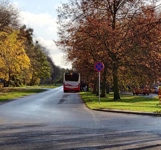 Przeniesiony przystanek autobusowy na Westerplatte