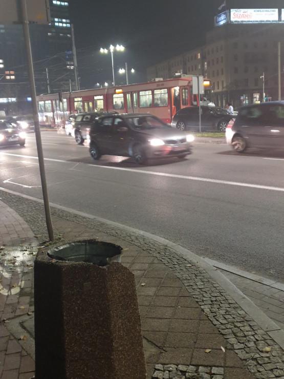 Stłuczka z tramwajem przy Zieleniaku