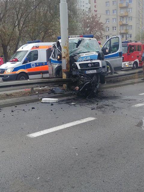 Poważny wypadek na Morskiej w Gdyni