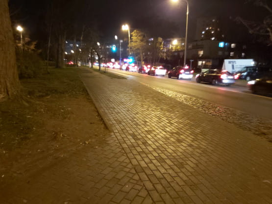 Korki na Witominie - do obwodnicy
