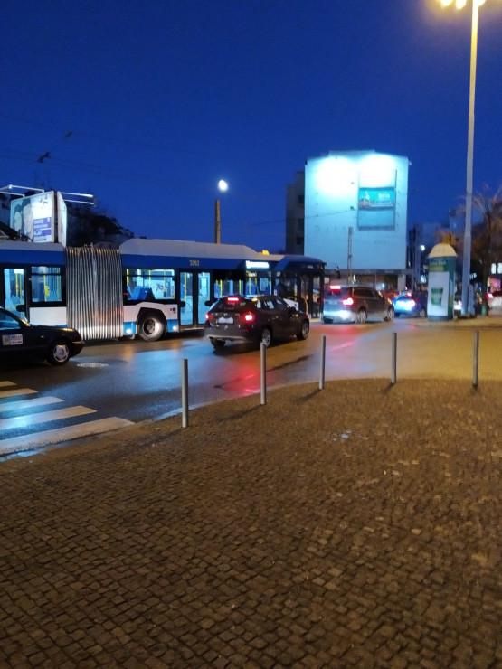 Duże korki w centrum Gdyni