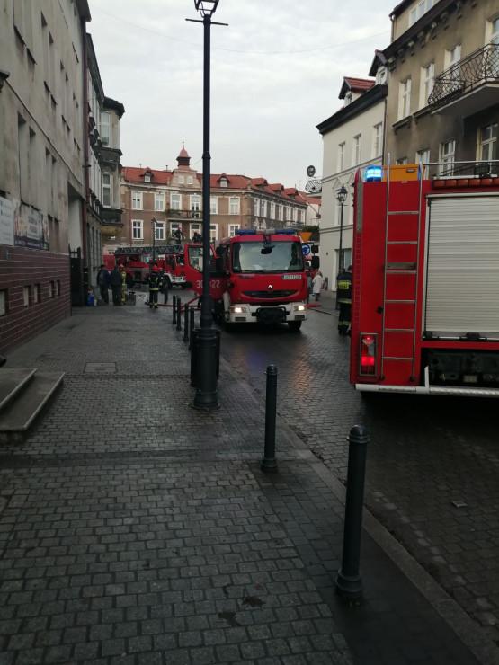 Niegroźny pożar na Wajdeloty we Wrzeszczu