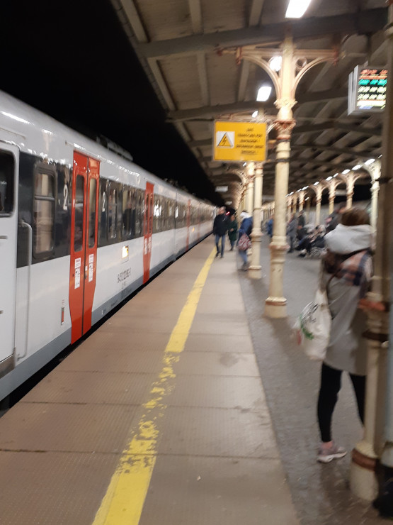 Opóźnienia na stacji Sopot
