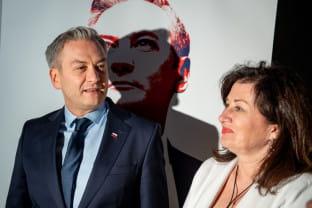 Robert Biedroń z kampanią prezydencką w Sopocie