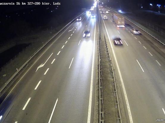 Dobre warunki do jazdy na trójmiejskich drogach