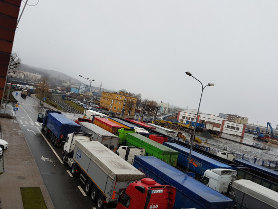 Zator na ul. Polskiej