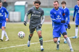 Lechia II Gdańsk - Bałtyk Gdynia 2:0. Zagrali Omran Haydary i Kenny Saief