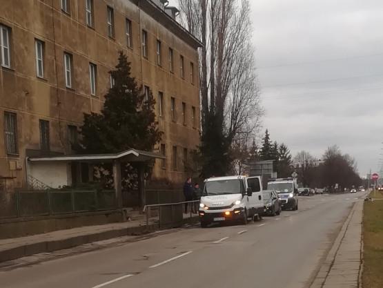 Po wypadku na Hallera odblokowany został lewy pas do centrum