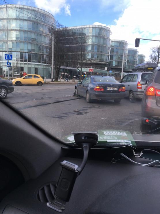 Kolizja na skrzyżowaniu Stryjskiej i al. Zwycięstwa w Gdyni