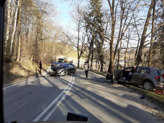 Skutki wypadku na Wiczlińskiej