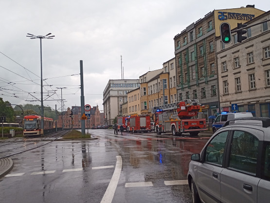 Za Huciskiem radiowozu na pasie w kierunku Gdyni