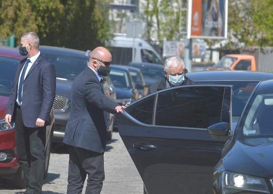 Jarosław Kaczyński w Gdańsku