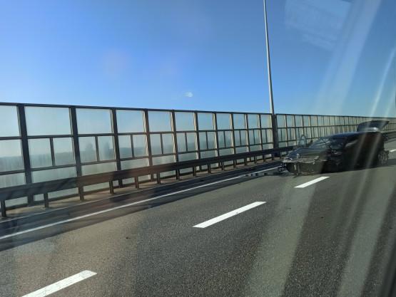 Wypadek na zjeździe Gdańsk Lipce