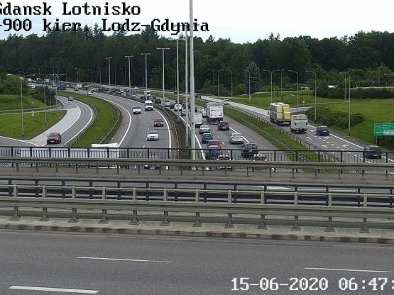 Węzeł Lotnisko kierunek Gdynia