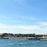 sopockie molo -widok z  ostrogi