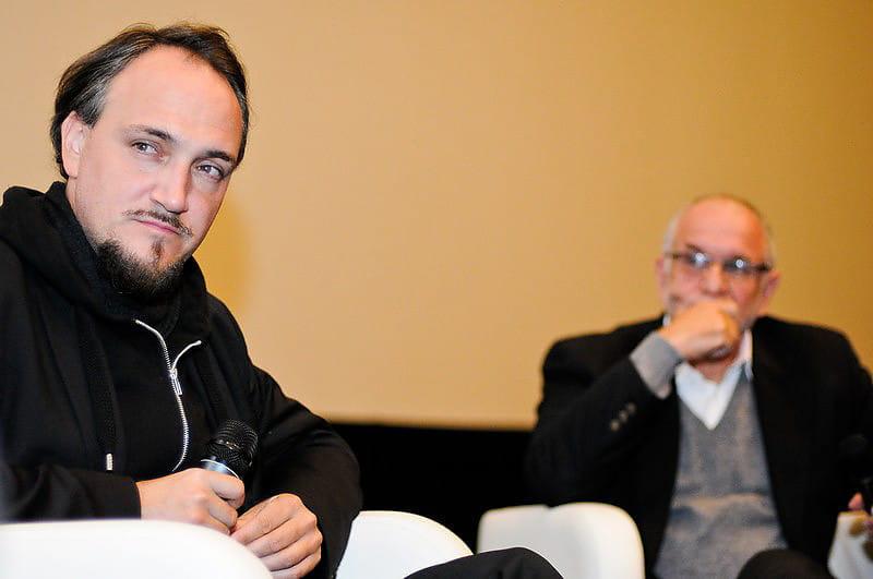 reż. Cyril Tuschi oraz prof.Jeffrey Goldfarb