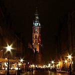 Gdańsk nocą