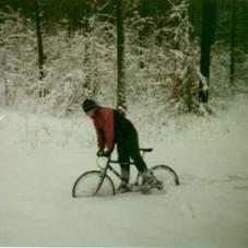 zima o 30 cm śniegu